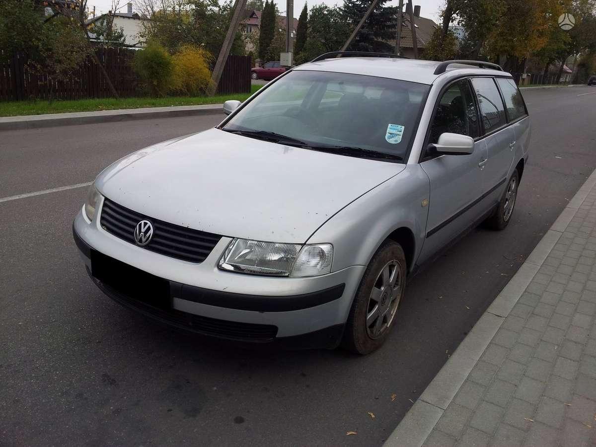 Volkswagen Passat dalimis. 20 v, variklio kodas apt  turime ir