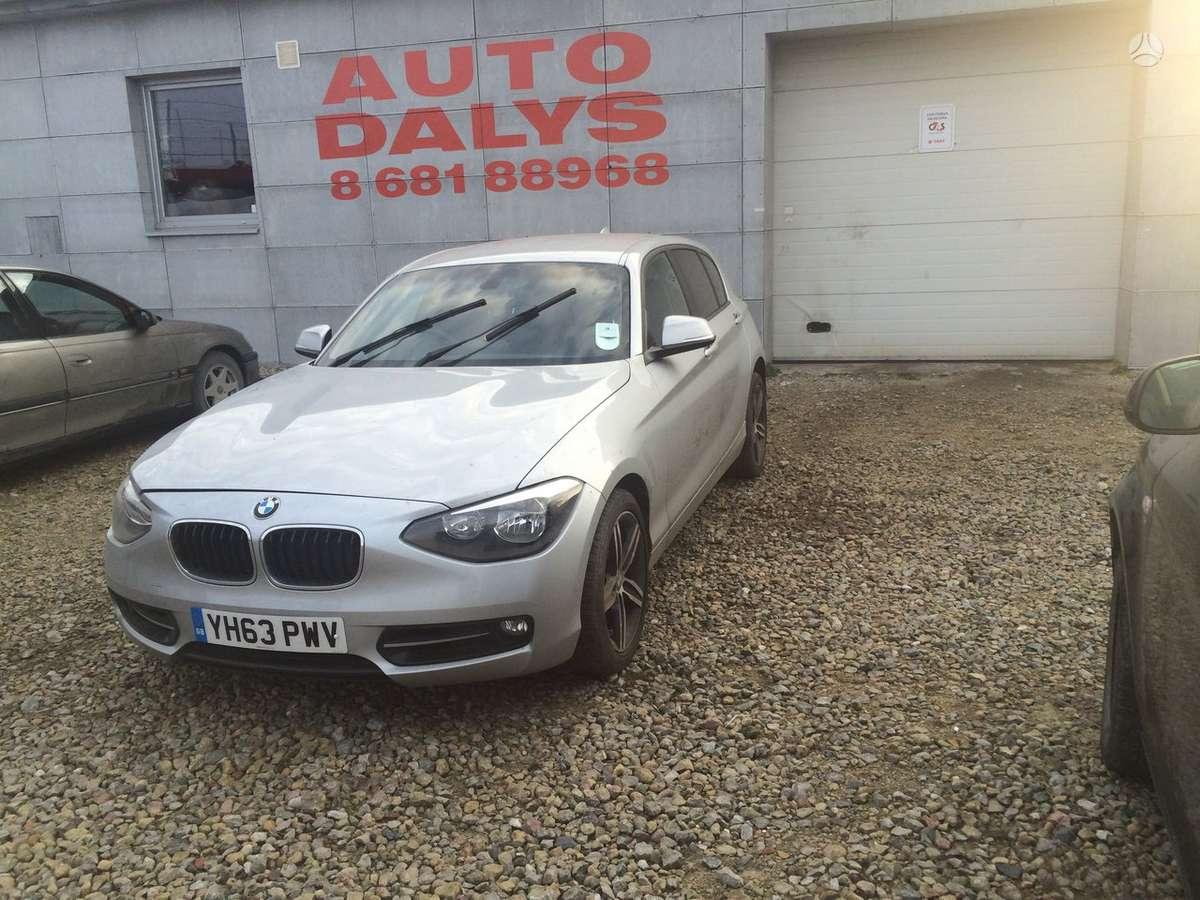 BMW 1 serija. Rida3000myliu
