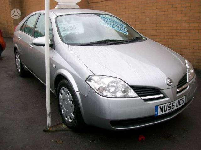 Nissan Primera dalimis. Primera 2.2 dci   yra gryze varikliai :