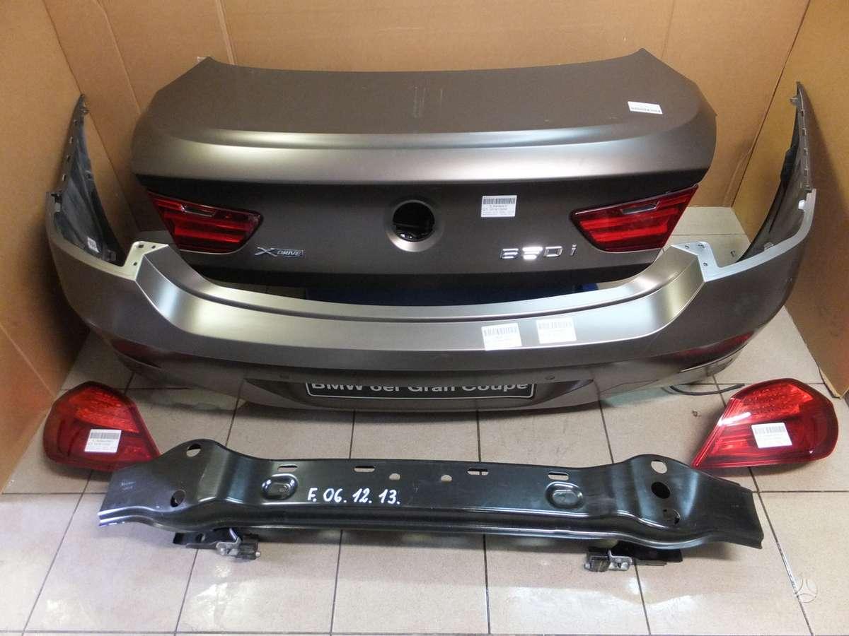 BMW 6 serija. Bmw f06 galas, yra ir kitu automobilio daliu.