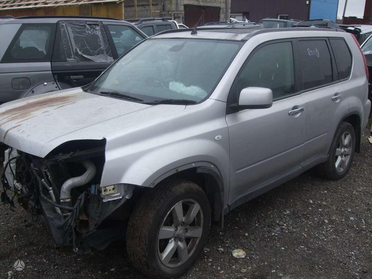 Nissan X-Trail dalimis. доставка бу запчастей с разтаможкой в мин