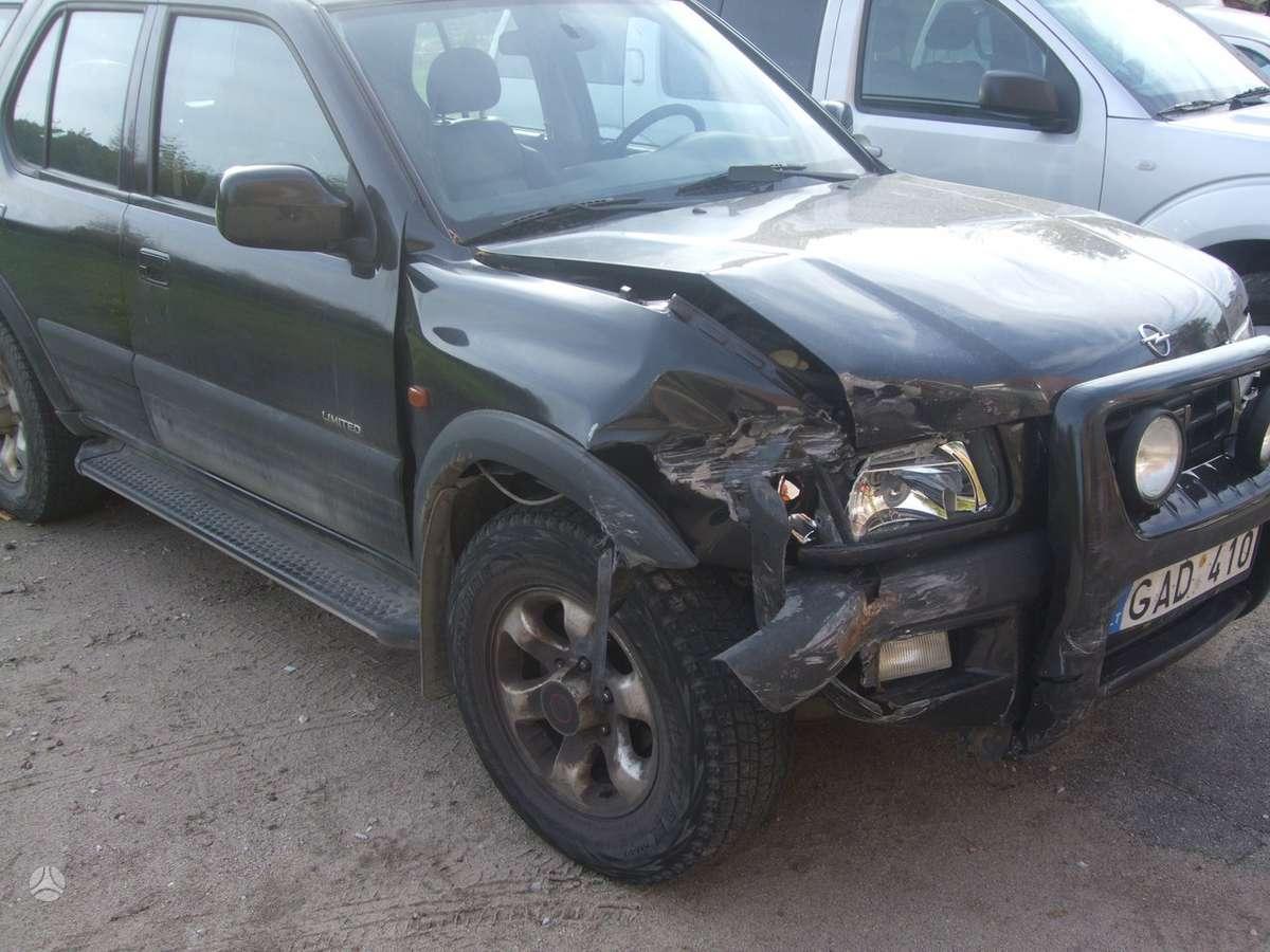 Opel Frontera. доставка бу запчастей с разтаможкой в минск (рб) и