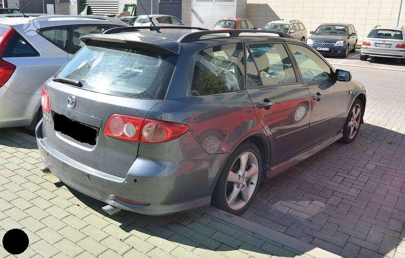 Mazda 6. Naudotu ir nauju japonisku automobiliu ir mikroautobusu