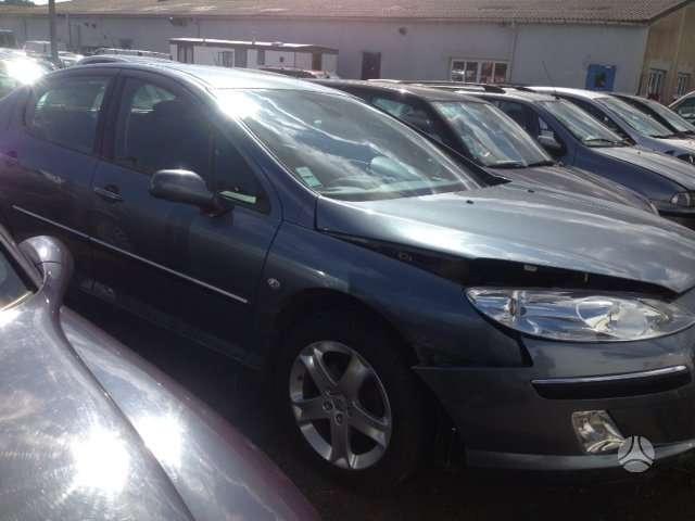 Peugeot 407. 150 000 rida yra daugiau ardomu auto ir varikliu