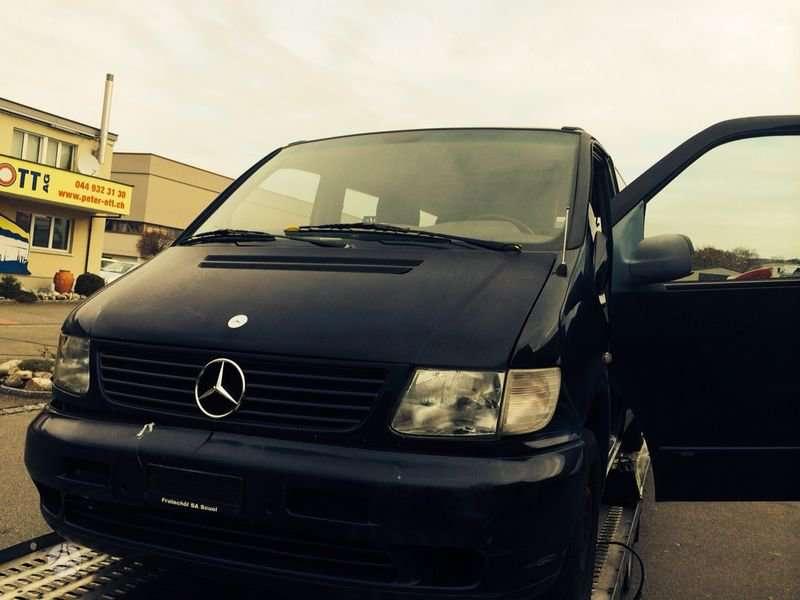 Mercedes-Benz V220. Europa iš šveicarijos(ch) возможна доставка