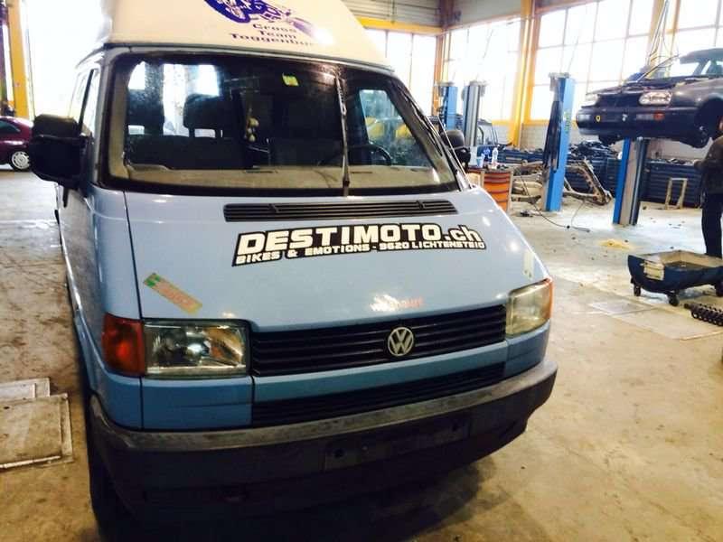 Volkswagen Transporter. Europa iš šveicarijos(ch) возможна доста