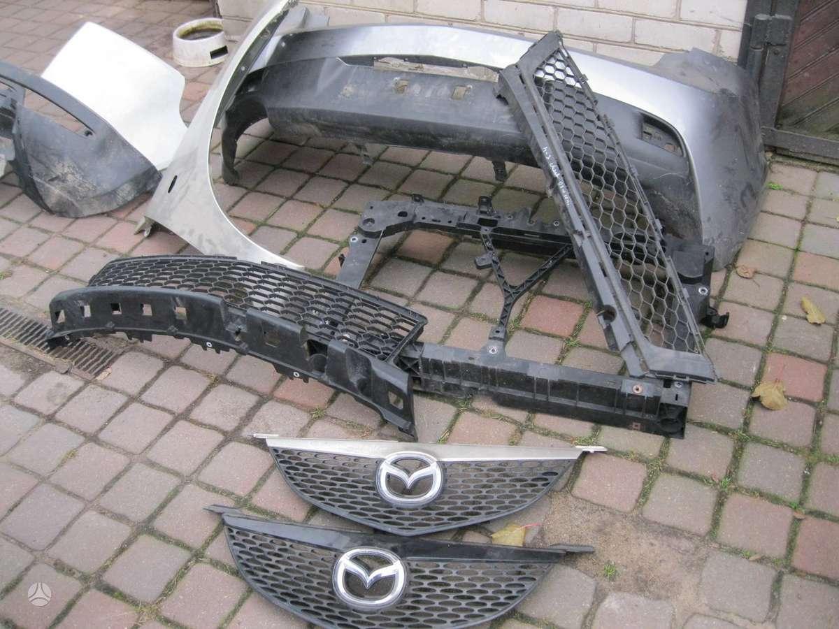 Mazda 3. ---buferis---- apiplovimo bakelis ---- posparnis---