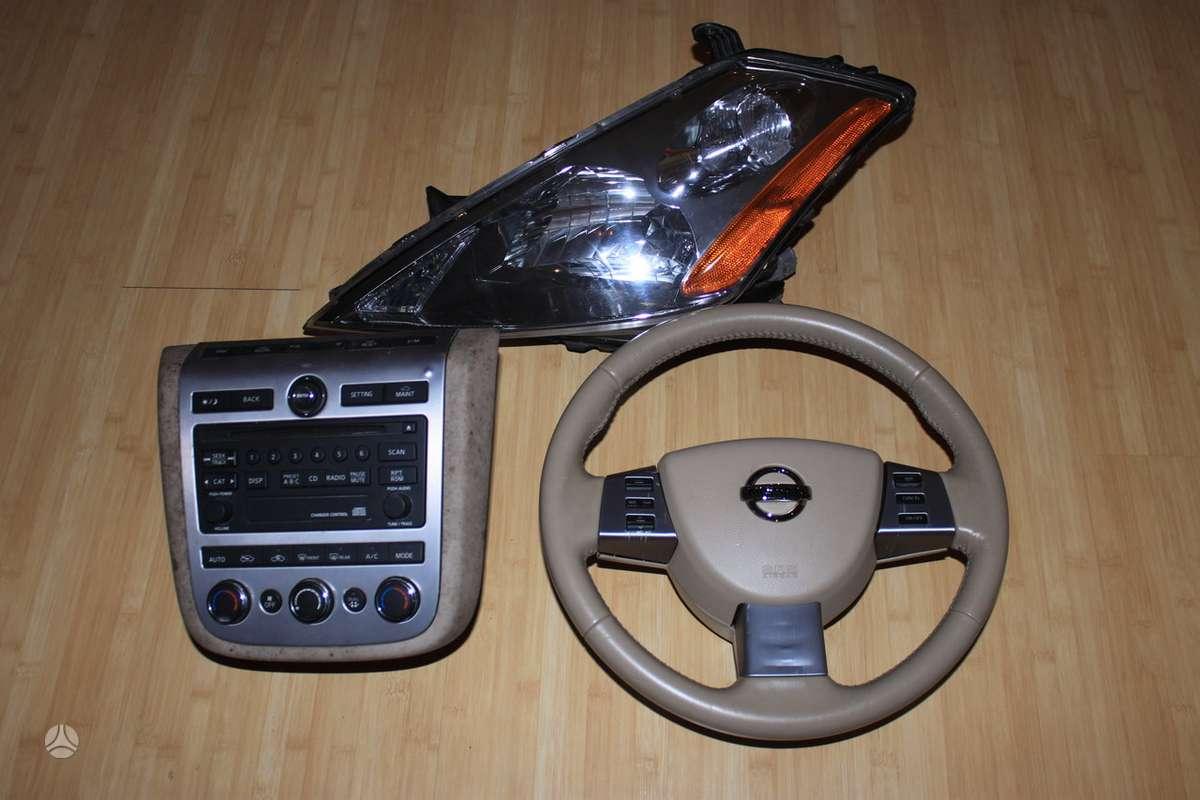 Nissan Murano. Siunciu i kitus miestus
