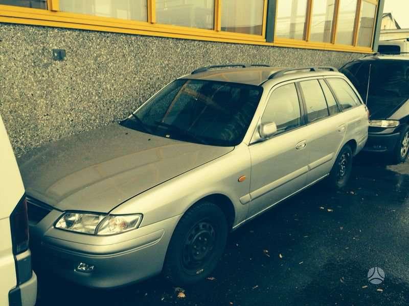 Mazda 626. Europa iš šveicarijos(ch) возможна доставка в ru, kz,