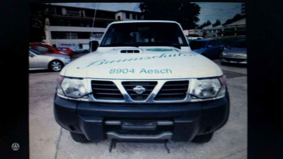 Nissan Patrol. Di europa iš šveicarijos(ch) возможна доставка в