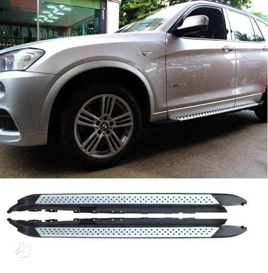 BMW X3 slenksciai