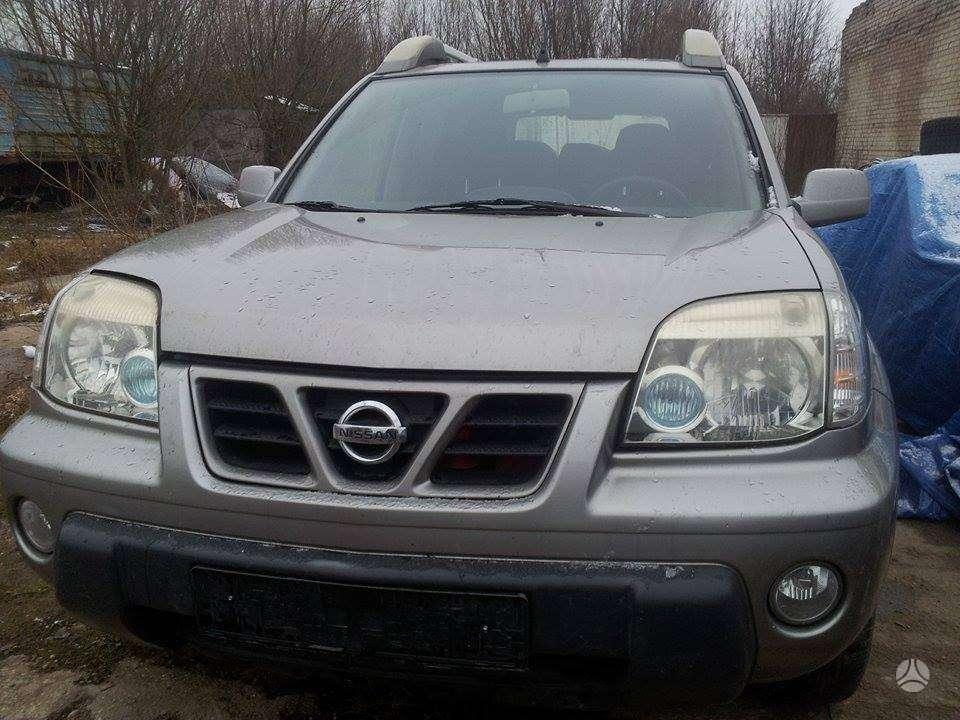 Nissan X-Trail. Europa. 84kw, du ratu komplektai , ragai su