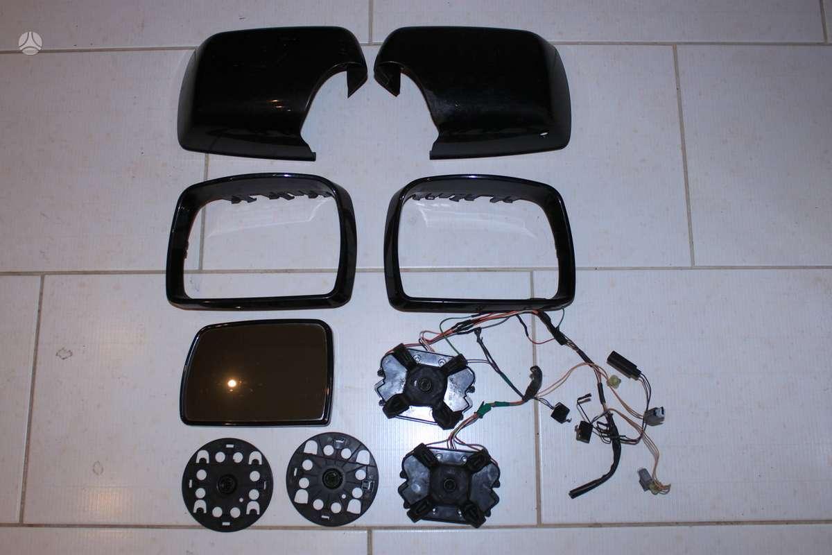 BMW X5 veidrodėliai