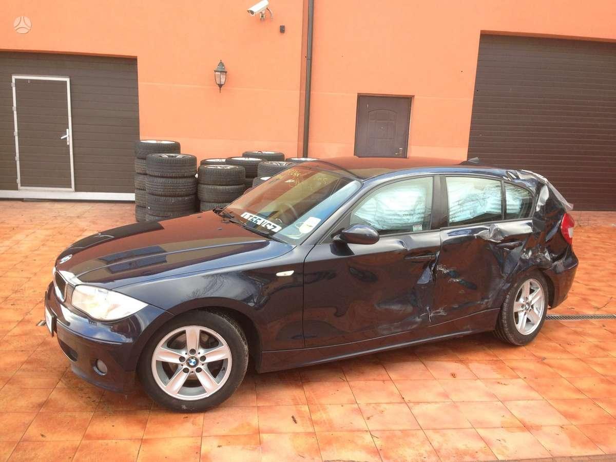 BMW 120 dalimis. Bmw 116i 2005m. dalimis bmw 118-120d 2004-