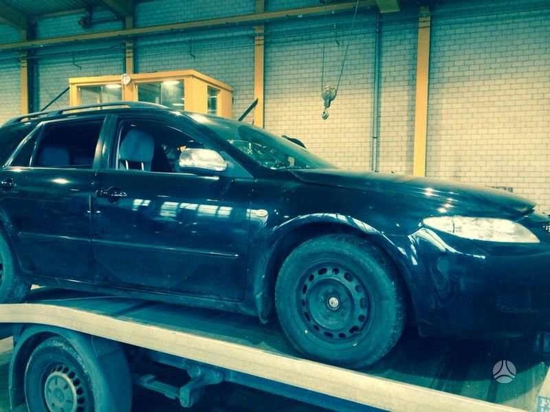 Mazda 6. Europa iš šveicarijos(ch) возможна доставка в ru, kz,
