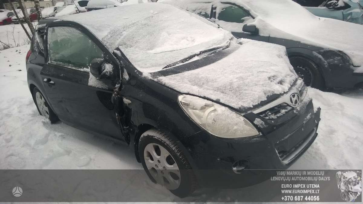Hyundai i20 dalimis. Automobilis ardomas dalimis:  запасные част
