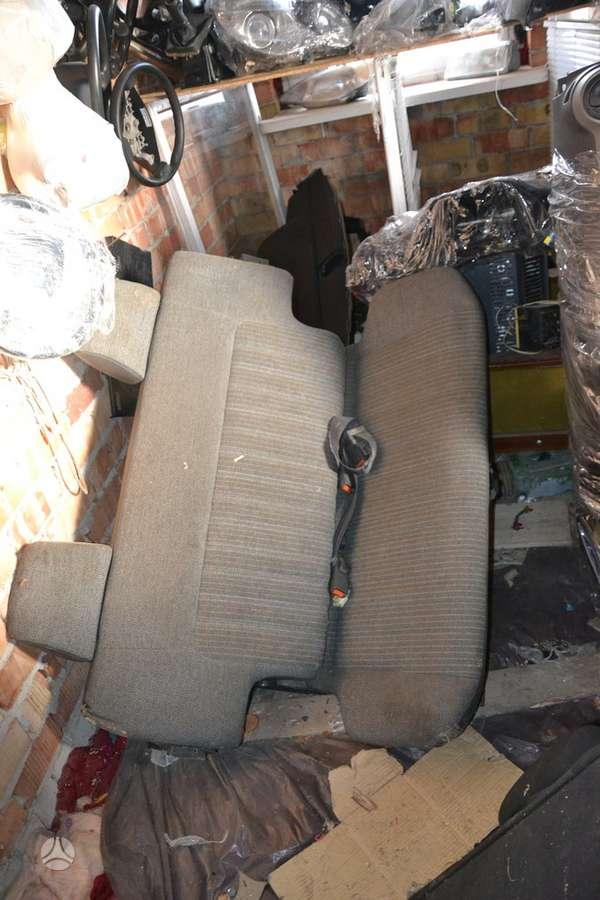 Nissan Patrol sėdynės