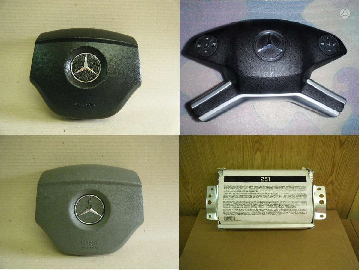 Mercedes-Benz ML klasė. Mercedes ml oro pagalves, dirzai