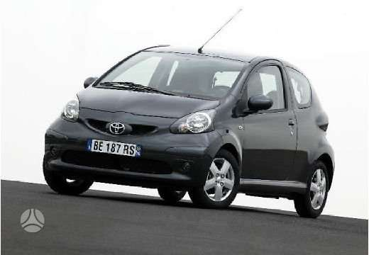 Toyota Aygo. Naudotu ir nauju japonisku automobiliu ir