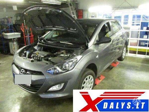 Hyundai i30. Jau dabar e-parduotuvėje www.xdalys.lt jūs galite: