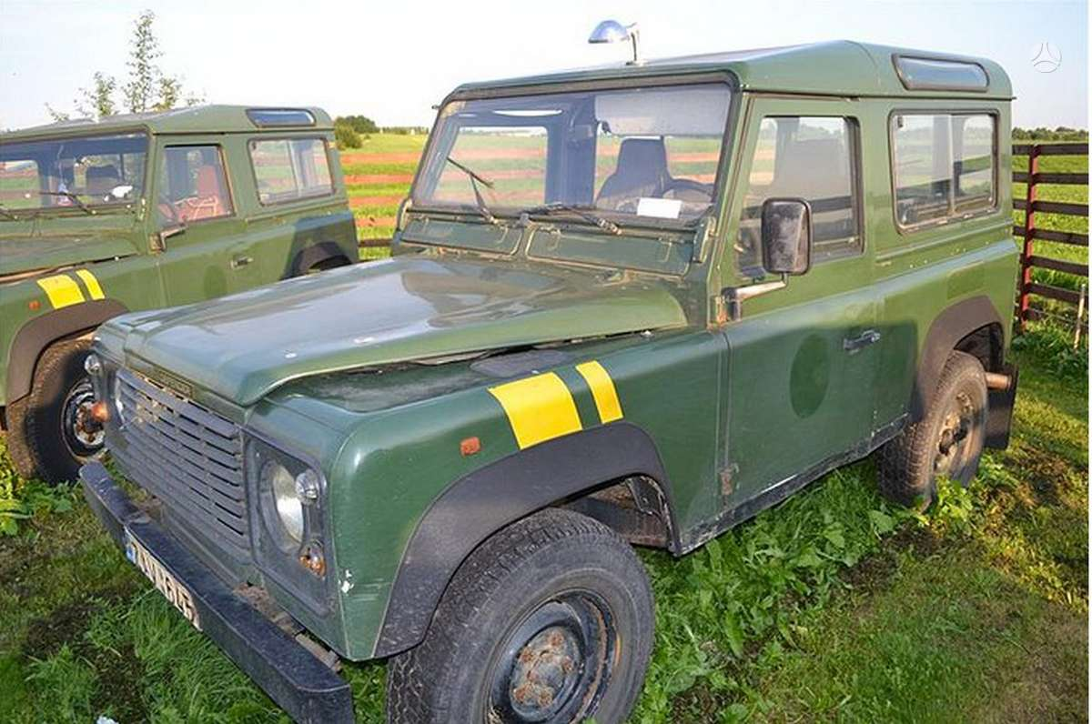 Land Rover Defender dalimis. Turiu naudotų ir naujų land rover