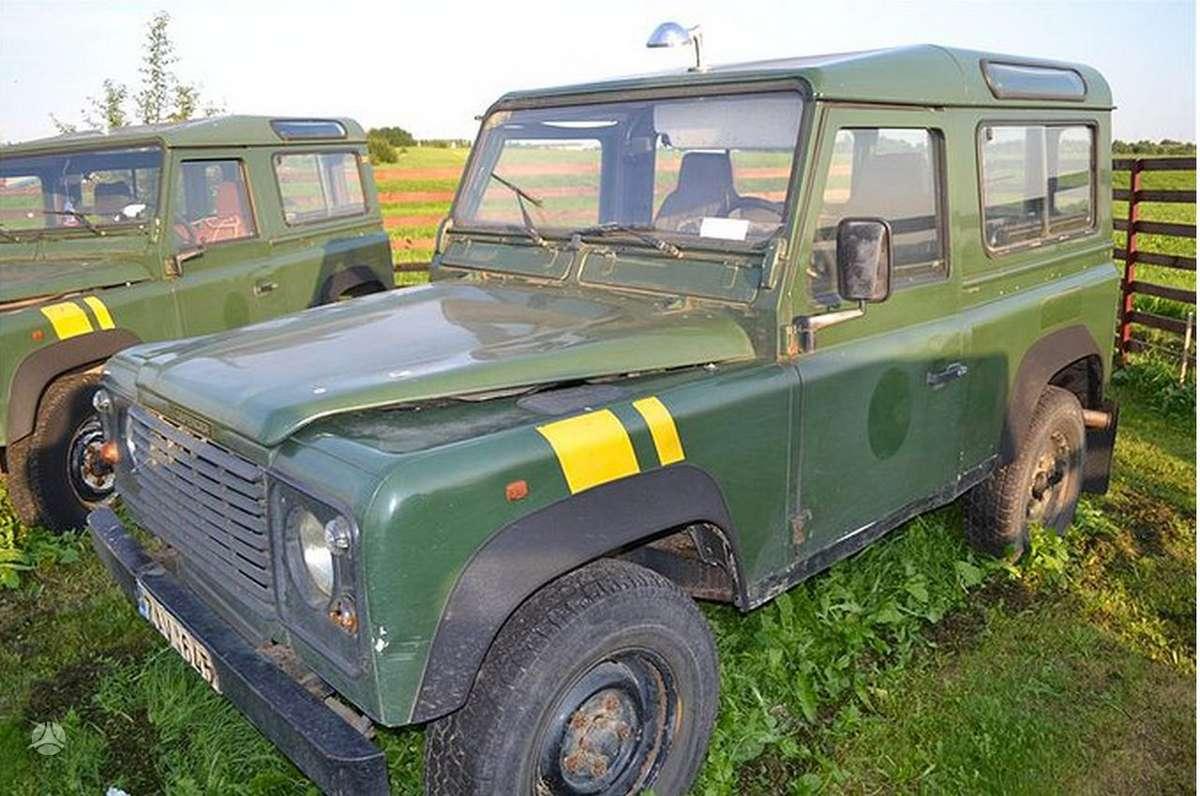 Land Rover Defender dalimis. Turiunaudotų ir naujų land rover