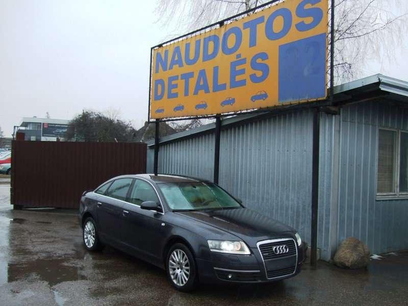 Audi A6. Variklis dalimis, turime ir benzininiais varikliais .