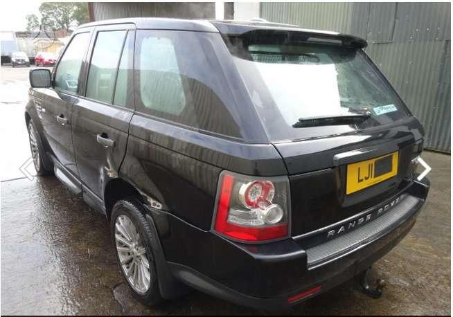 Land Rover Range Rover Sport. Turime europiniu daliu.  rang