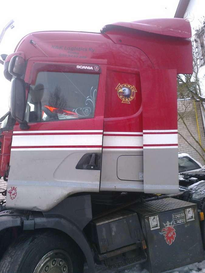 Scania, 144, vilkikai