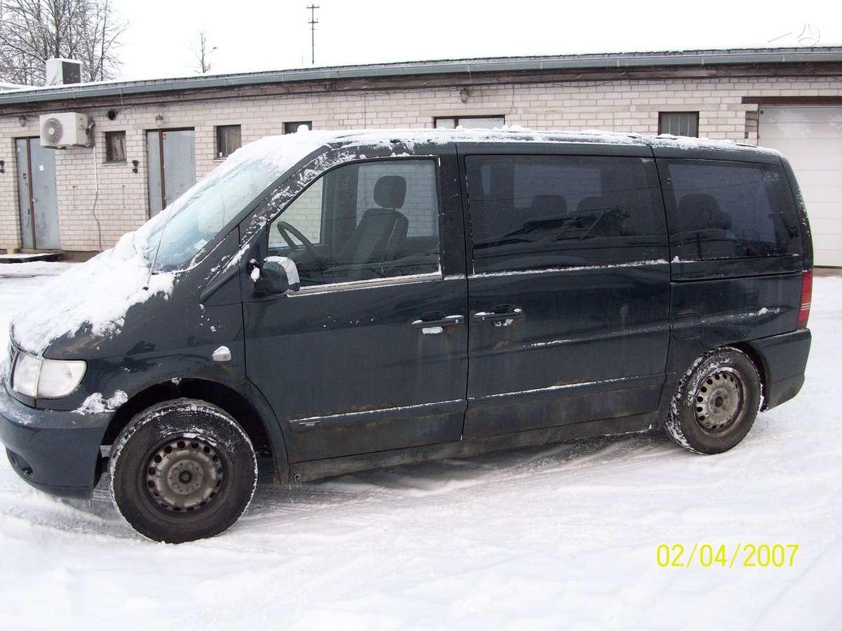 Mercedes-Benz, Vito V22, keleiviniai mikroautobusai