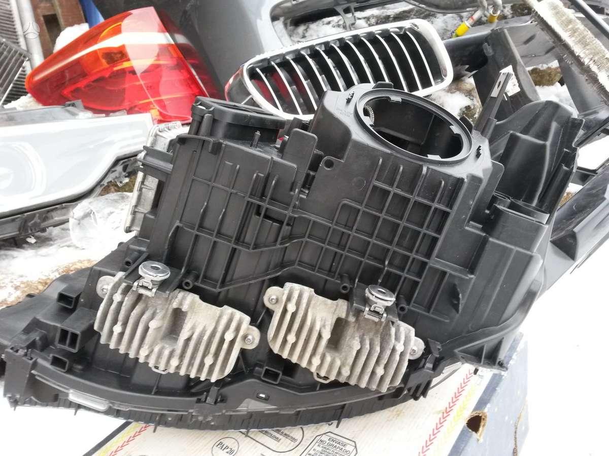 BMW 4 serija. D.p.priekinis žibintas, d.p.pr.sparnas, pr.buferis,
