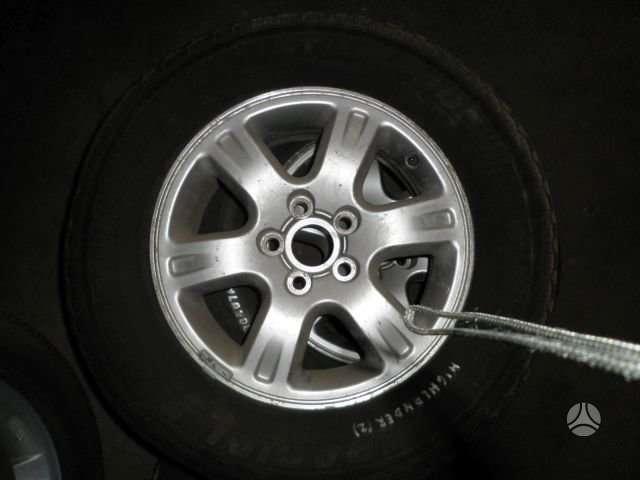 Toyota, Highlander, lengvojo lydinio, R16