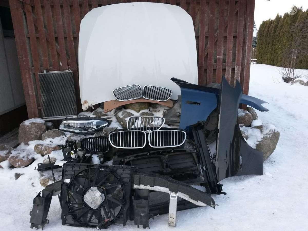BMW 5 serija. Priekinis buferis m , galinis buferis m, žibintai