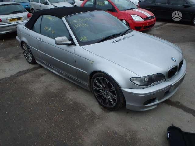 BMW 330. Bmw 330 2003m kabrioletas, rekaro salonas,lieti ratai,