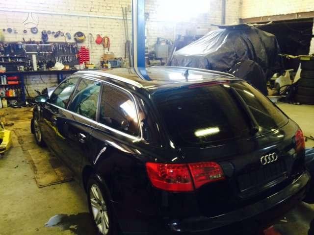 Audi A6 dalimis. Naujai ardoma audi a6 quattro. tvarkingas