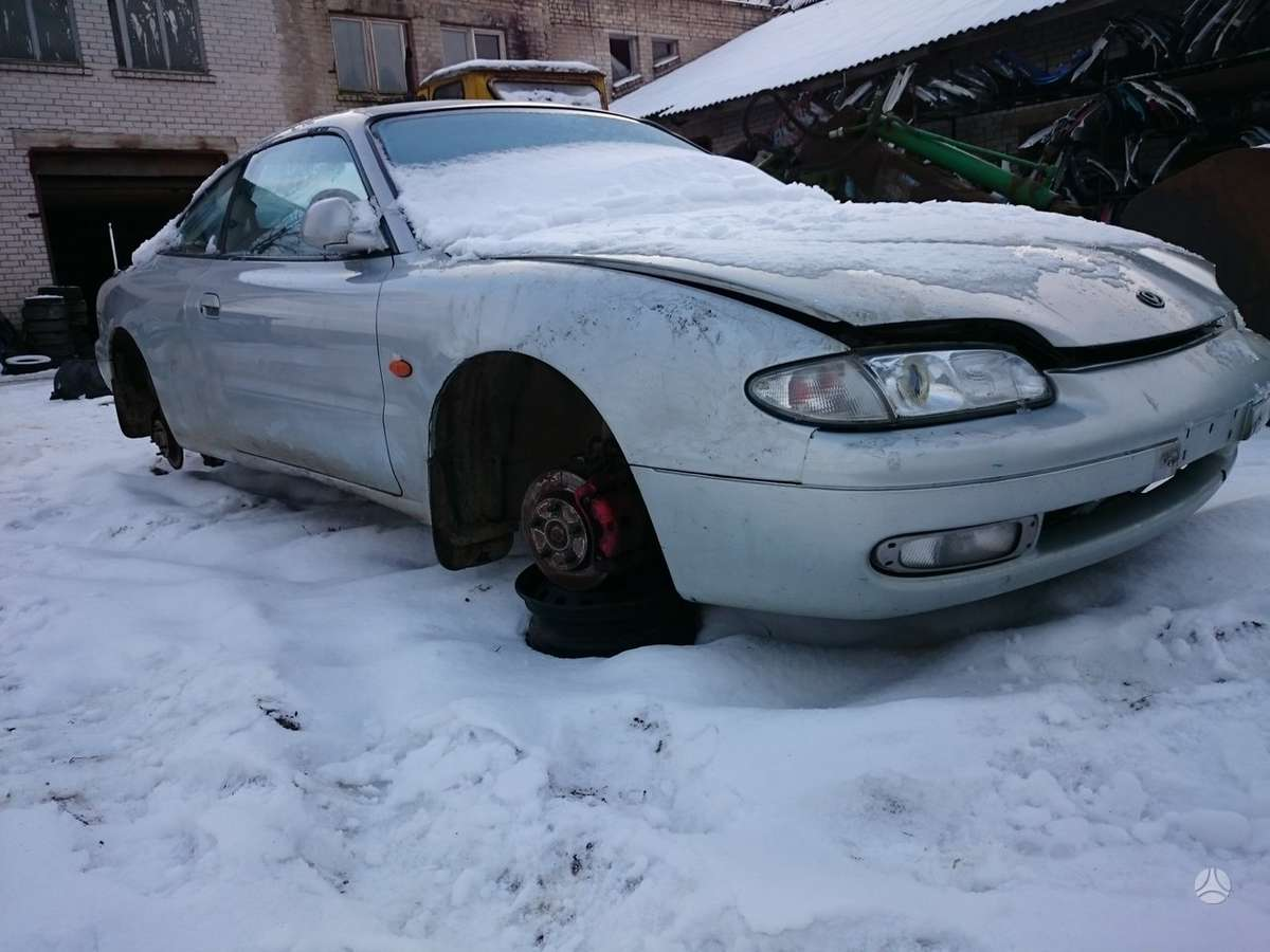 Mazda MX-6 dalimis. Iš prancūzijos. esant galimybei,