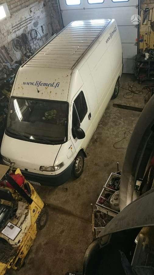 Fiat, DUCATO, krovininiai mikroautobusai