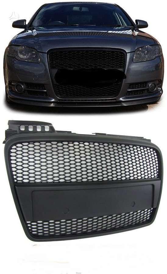 Audi A4. tuning dalys .priekiniai rs4 look bamperiai - su pdc