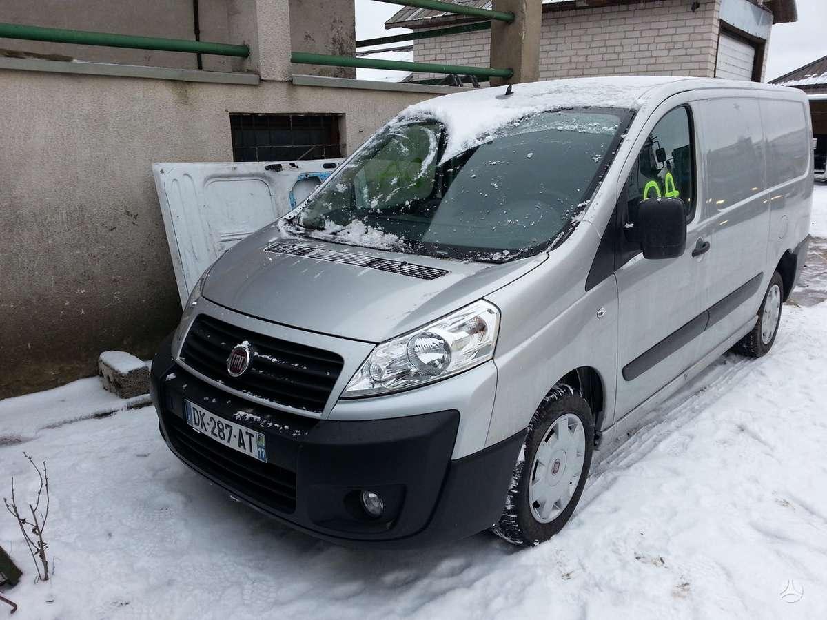Fiat Scudo dalimis. Fiat scudo 2014m 2.0 dyz. 130ag rida 3200km!