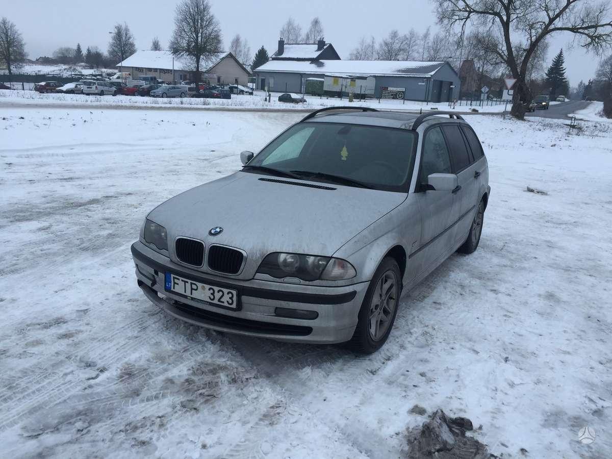 BMW 3 serija. Bmw 320d e46 variklis ok 100kw  automobilis