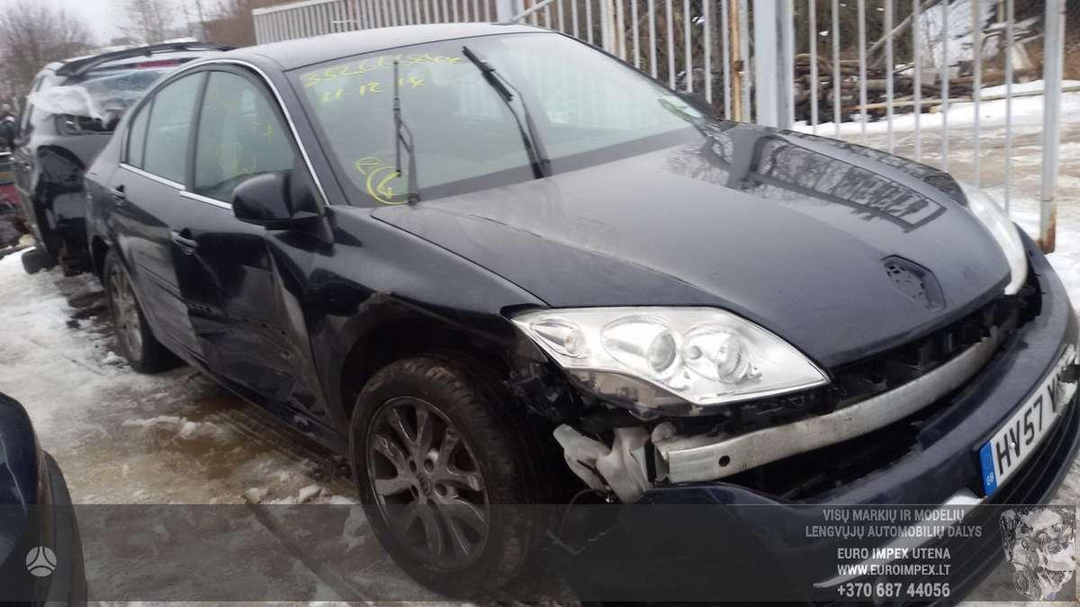 Renault Laguna dalimis. Automobilis ardomas dalimis:  запасные ч