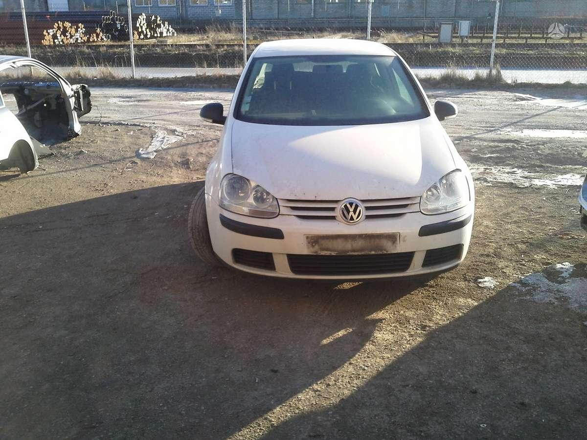 Volkswagen Golf dalimis. Bxe variklio kodas variklis dalimis.