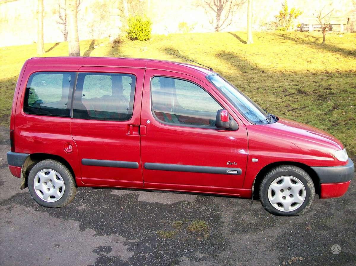 Peugeot Partner. 2.0hdi 8v.