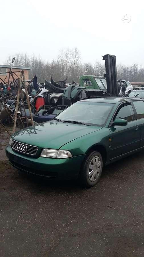 Audi A4. Audi a4, 1997 m., 1,8 benzinas, 92 kw, mechaninė greičių