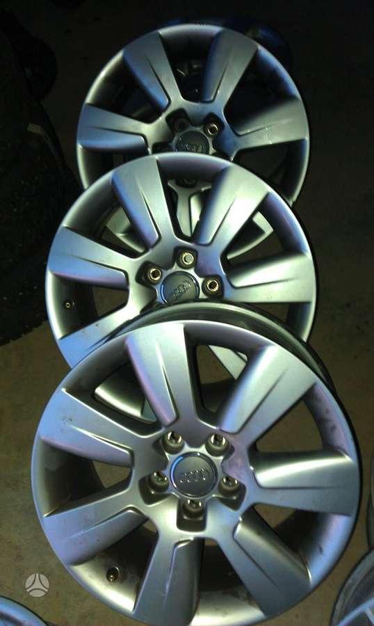 Audi A6, lengvojo lydinio, R17