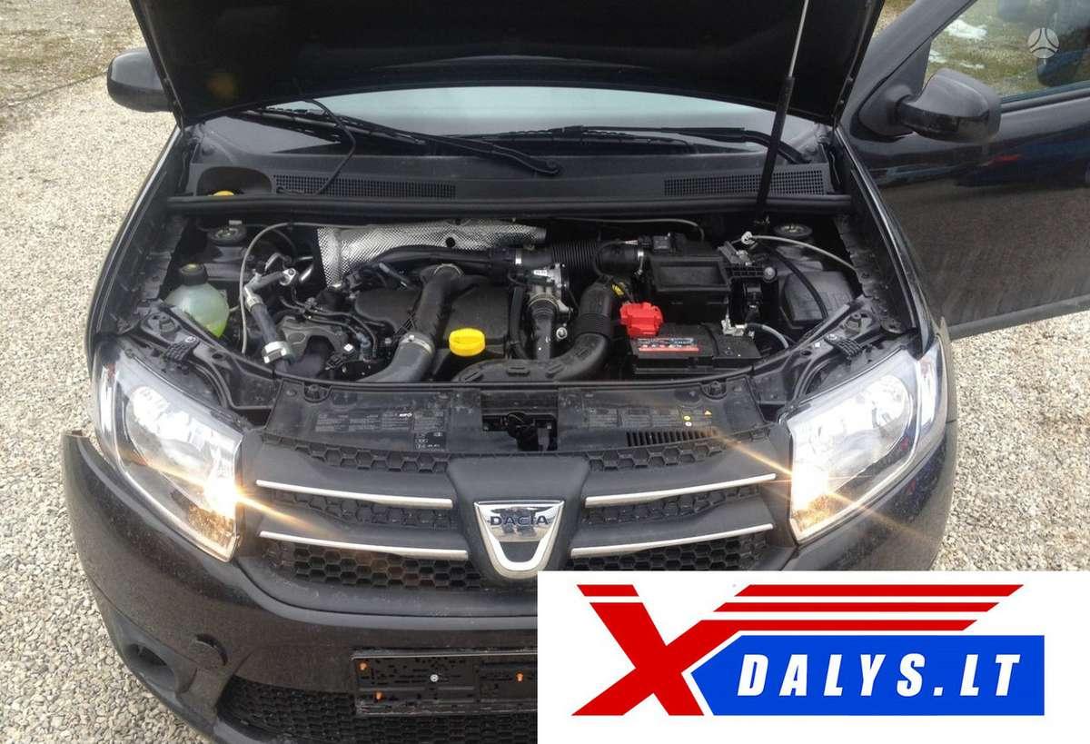 Dacia Logan dalimis. Www.xdalys.lt  bene didžiausia naudotų ir