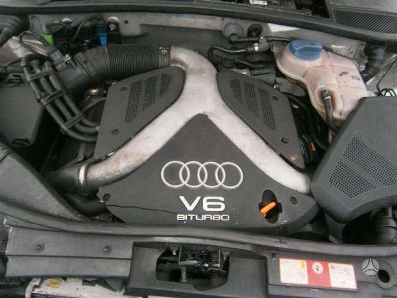 Audi A6 ALLROAD dalimis. Tvarkingas automobilis, variklis 2.7 bi-