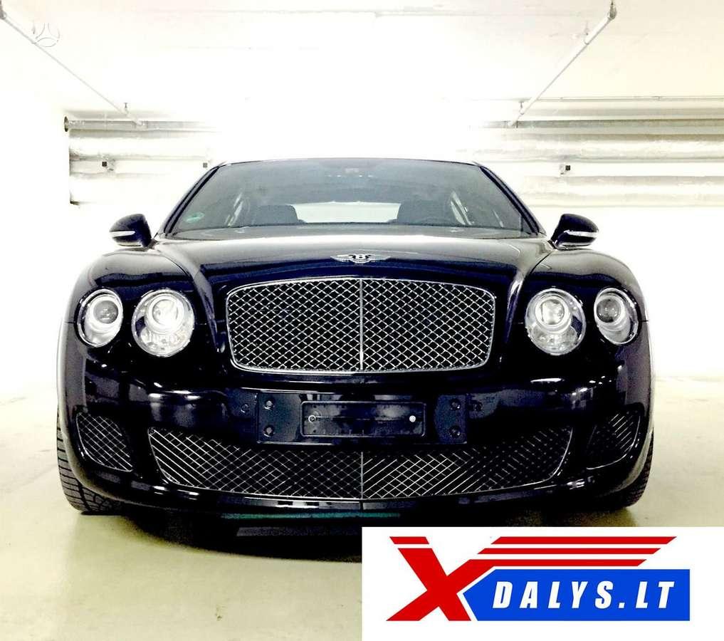 Bentley Continental dalimis. Jau dabar e-parduotuvėje www.xdalys.