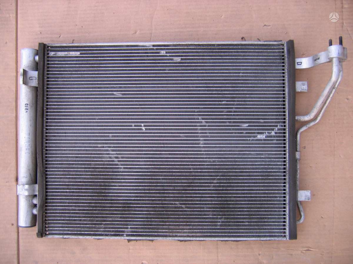 Kia cee'd kondicionieriaus radiatorius, vandens radiatorius, ventiliatorius