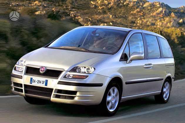 Fiat Ulysse. Turiu 2.2hdi, 2.0hdi 16v 79kw